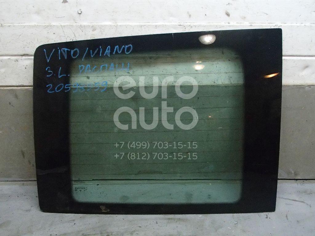 Купить Стекло двери багажника Mercedes Benz Vito/Viano-(639) 2003-2014; (6397450810)
