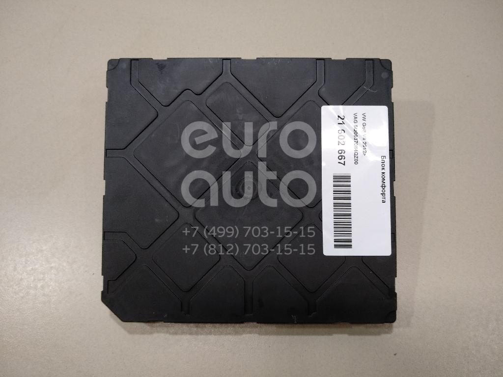 Купить Блок комфорта VW Golf VII 2012-; (5Q0937084QZ00)