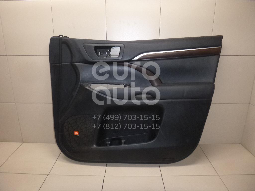Купить Обшивка двери передней правой Toyota Highlander III 2013-; (676100E611C2)