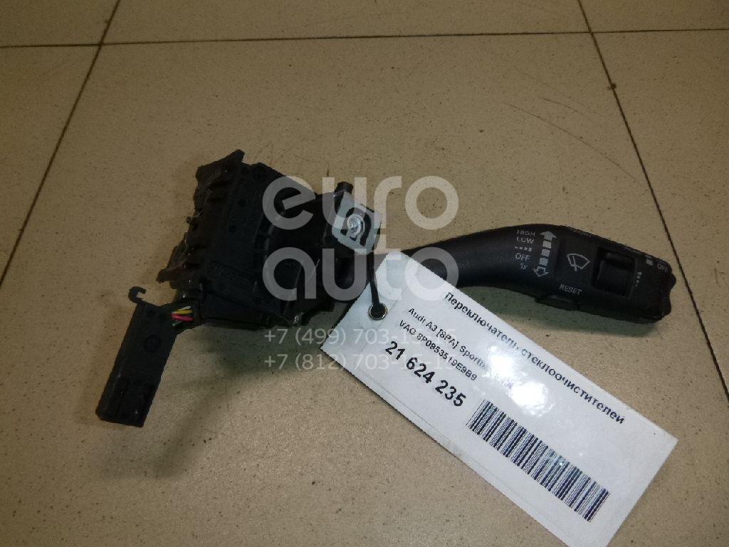 Купить Переключатель стеклоочистителей Audi A3 [8PA] Sportback 2004-2013; (8P0953519E9B9)