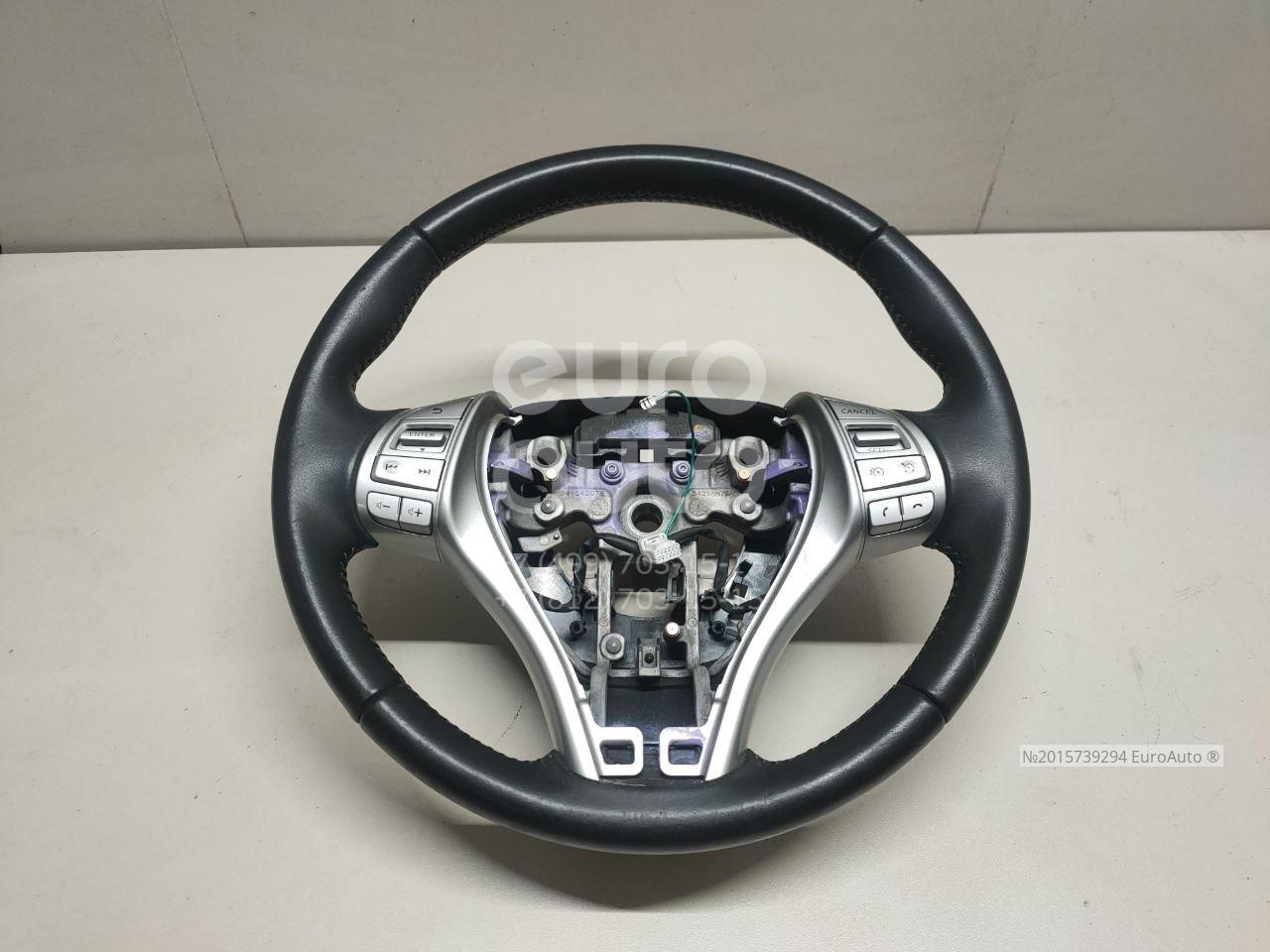 Купить Рулевое колесо для AIR BAG (без AIR BAG) Nissan Qashqai (J11) 2014-; (484304EN1A)