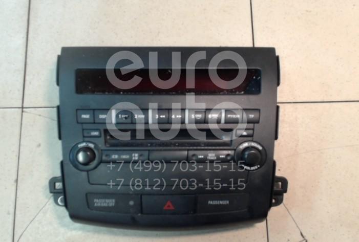 Купить Магнитола Mitsubishi Outlander XL (CW) 2006-2012; (8002A139XA)