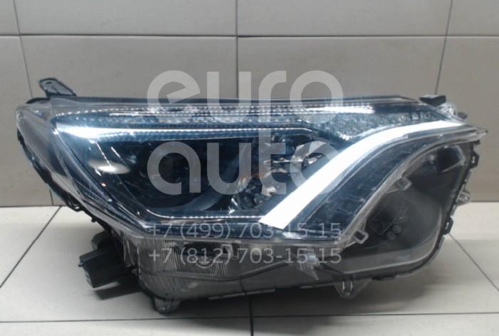 Купить Фара правая Toyota RAV 4 2013-; (8113042650)