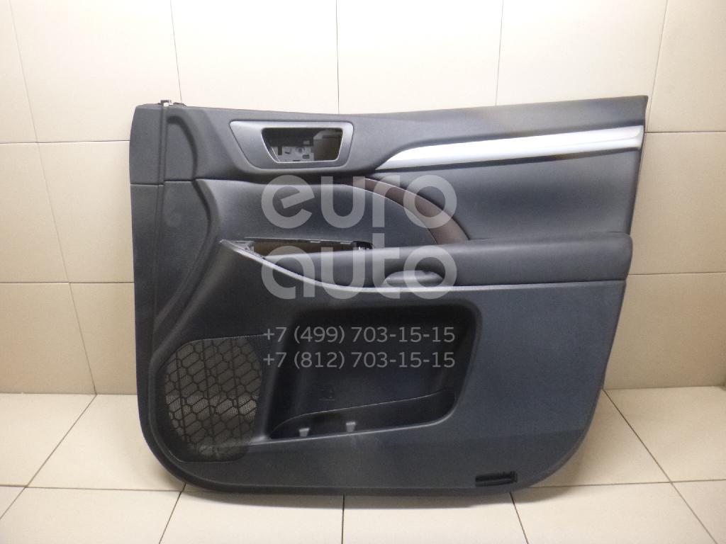 Купить Обшивка двери передней правой Toyota Highlander III 2013-; (676100E581C2)