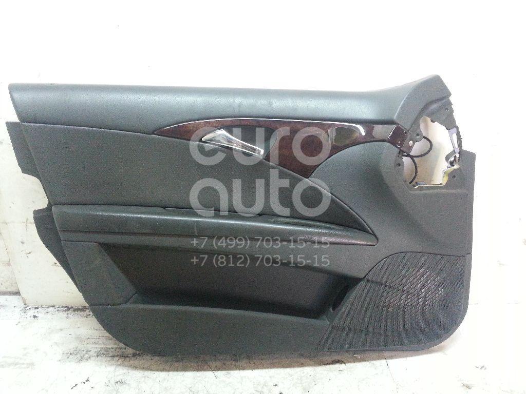 Купить Обшивка двери передней левой Mercedes Benz W211 E-Klasse 2002-2009; (21172003709C52)
