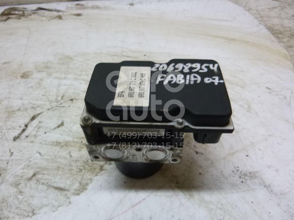 Купить Блок ABS (насос) Skoda Fabia 2007-2015; (6R0907379C)