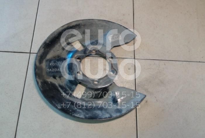 Купить Пыльник тормозного диска Mazda CX 5 2012-; (K01126261A)