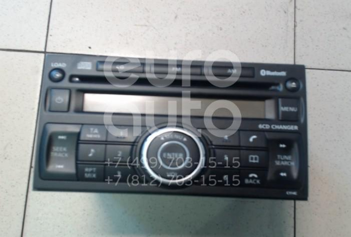 Купить Магнитола Nissan Qashqai (J10) 2006-2014; (28185JD400)