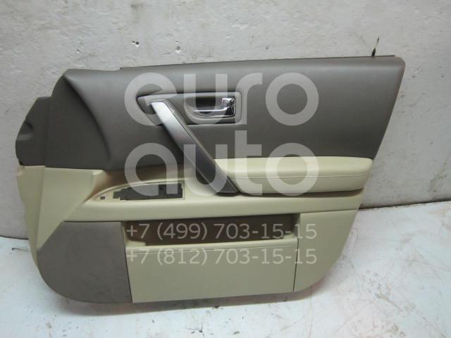 Купить Обшивка двери передней правой Infiniti FX (S50) 2003-2007; (80900CM80C)