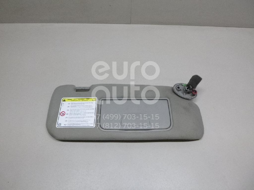 Купить Козырек солнцезащитный (внутри) Chevrolet Captiva (C140) 2011-; (95422010)