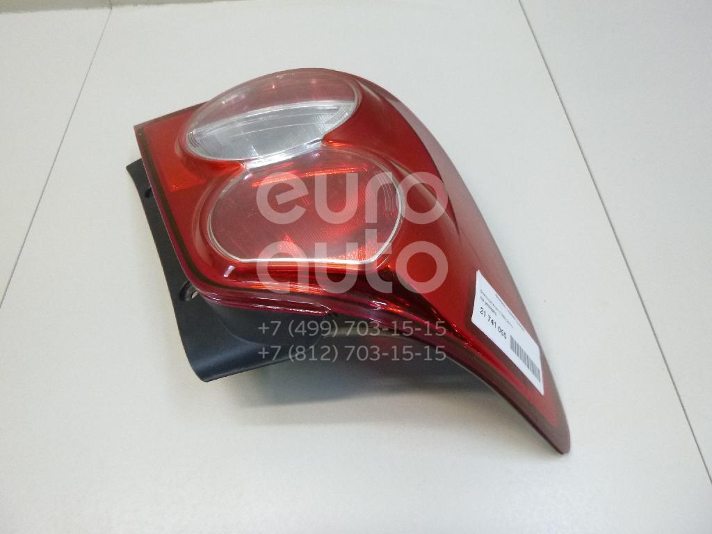 Купить Фонарь задний левый Chevrolet Aveo (T300) 2011-; (96830975)