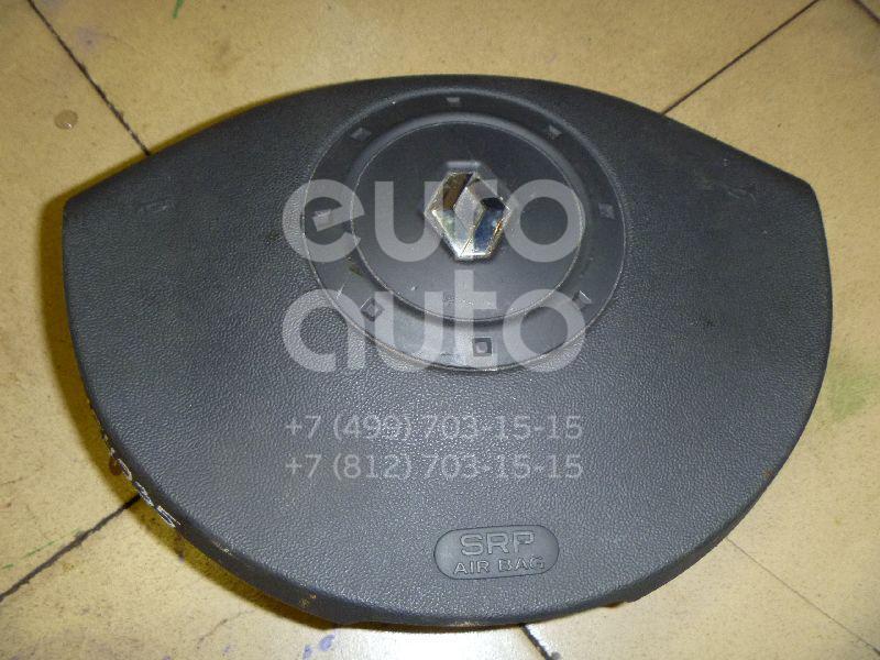 Купить Подушка безопасности в рулевое колесо Renault Megane II 2003-2009; (8200381849)