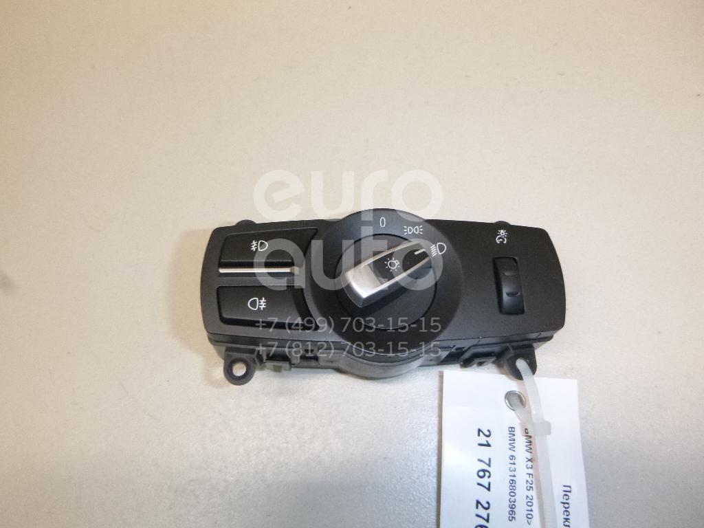Купить Переключатель света фар BMW X3 F25 2010-; (61316803965)