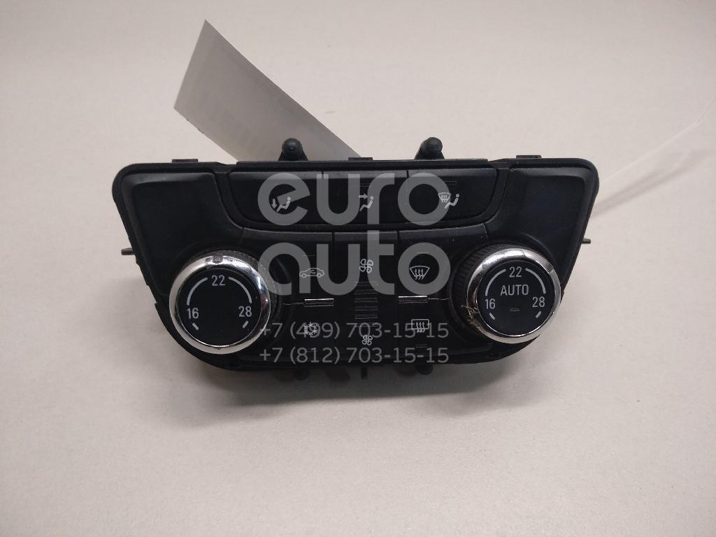 Блок управления климатической установкой Opel Zafira C 2013-; (13474055)