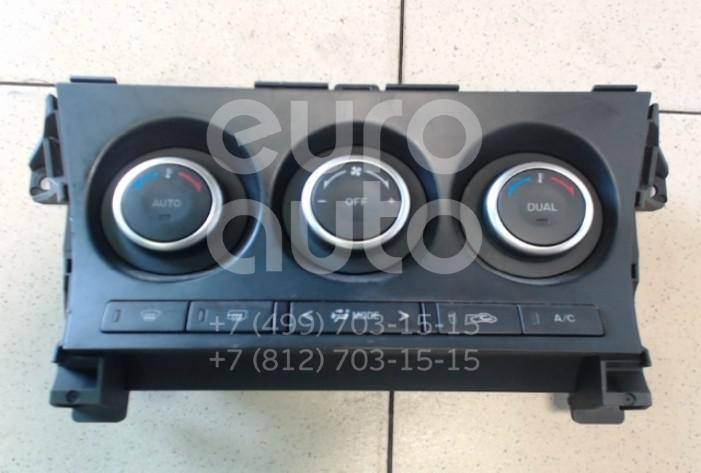 Блок управления климатической установкой Mazda Mazda 3 (BL) 2009-2013; (BHB761190A)