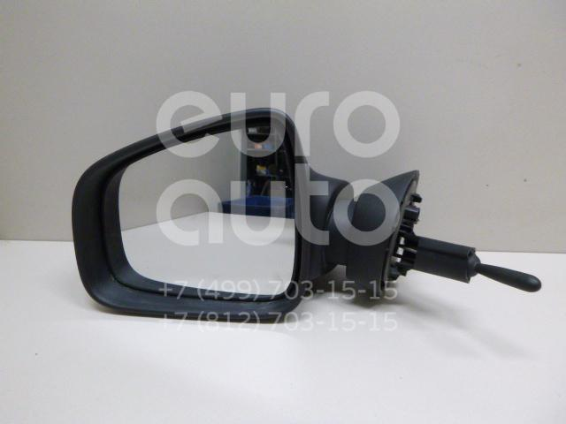 Купить Зеркало левое механическое Renault Sandero 2009-2014; (8200965091)