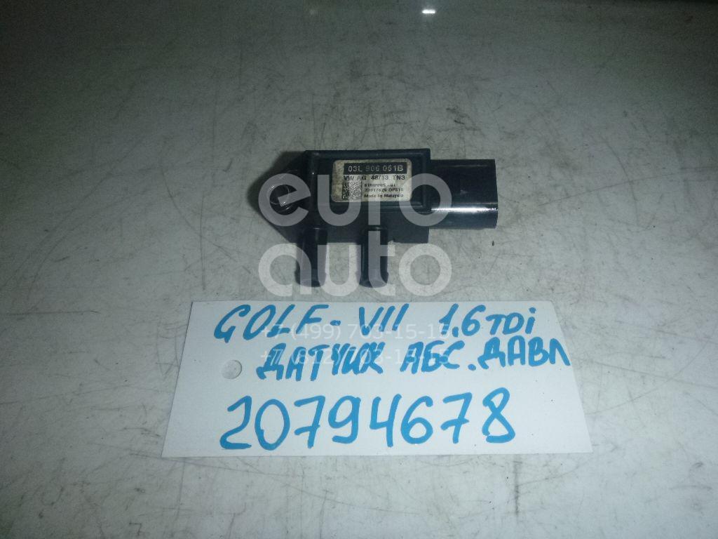 Купить Датчик давления выхлопных газов VW Golf VII 2012-; (03L906051B)