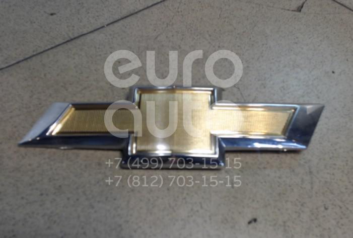 Эмблема на крышку багажника Chevrolet Aveo (T300) 2011-; (95122466)  - купить со скидкой