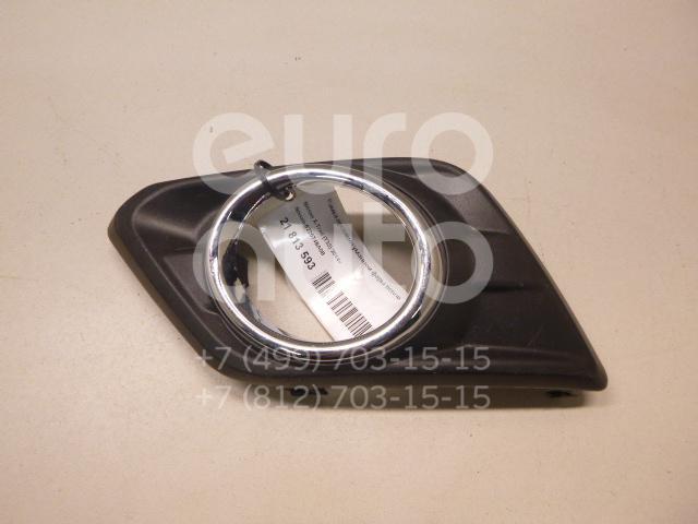 Купить Рамка противотуманной фары левой Nissan X-Trail (T32) 2014-; (622574BA0B)
