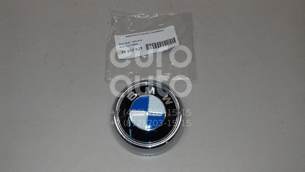 Купить Эмблема на крышку багажника BMW X6 E71 2008-2014; (51147196559)