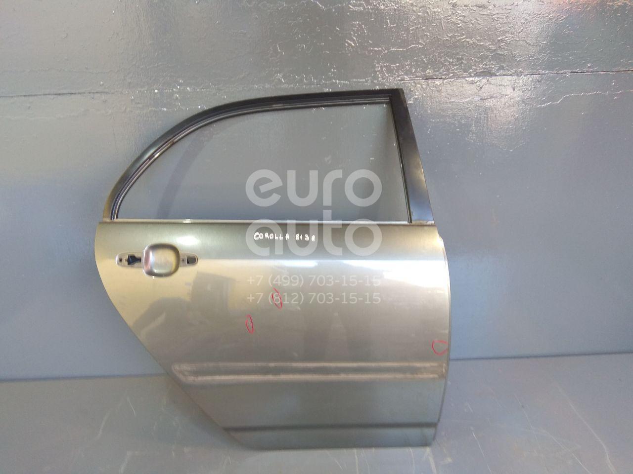Купить Дверь задняя правая Toyota Corolla E12 2001-2007; (6700302080)