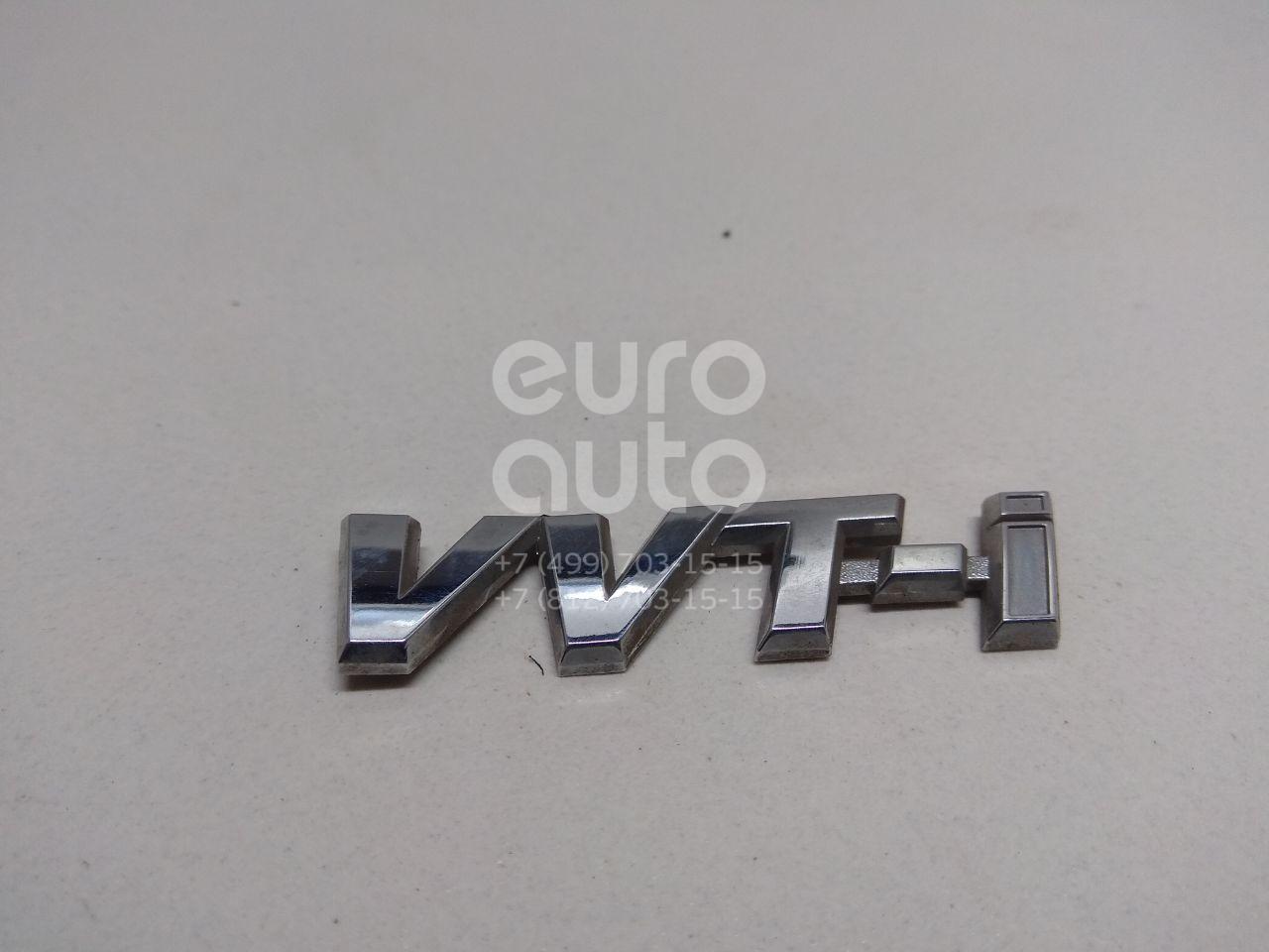 Купить Эмблема Toyota Corolla E12 2001-2007; (7535112160)