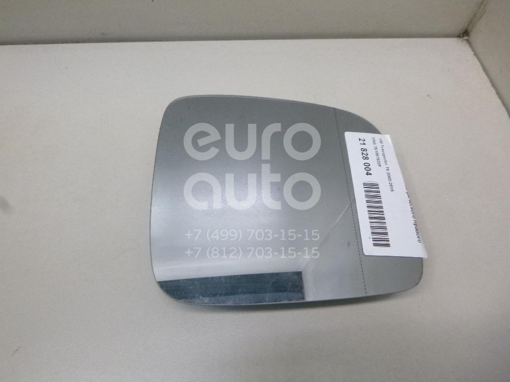 Купить Стекло зеркала электрического правого VW Transporter T5 2003-2015; (7E1857522F)