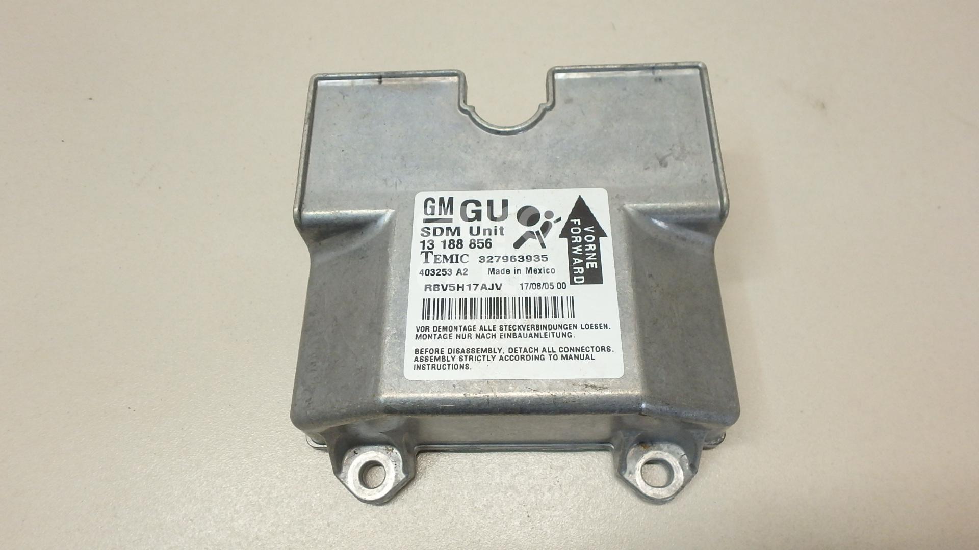 Купить Блок управления AIR BAG Opel Zafira B 2005-2012; (13188856)