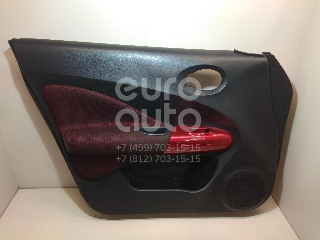 Купить Обшивка двери передней левой Nissan Juke (F15) 2011-; (809011KK1B)