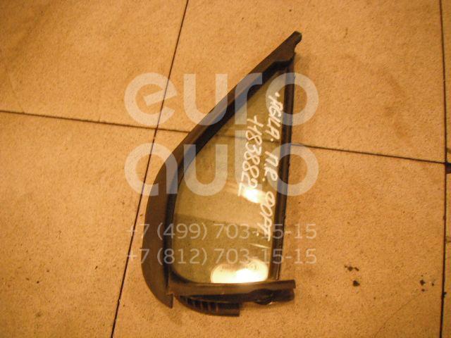 Купить Стекло двери передней правой (форточка) Opel Agila A 2000-2008; (9203536)