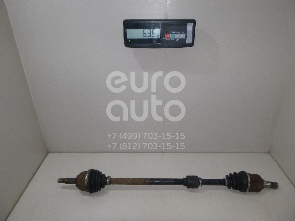 Купить Полуось передняя правая Nissan Note (E11) 2006-2013; (391001U600)