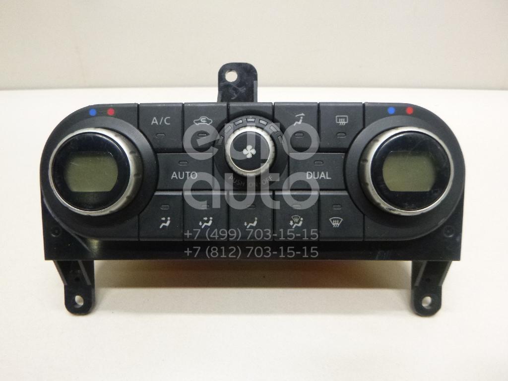 Купить Блок управления климатической установкой Nissan Qashqai+2 (JJ10) 2008-2014; (27500BR46A)