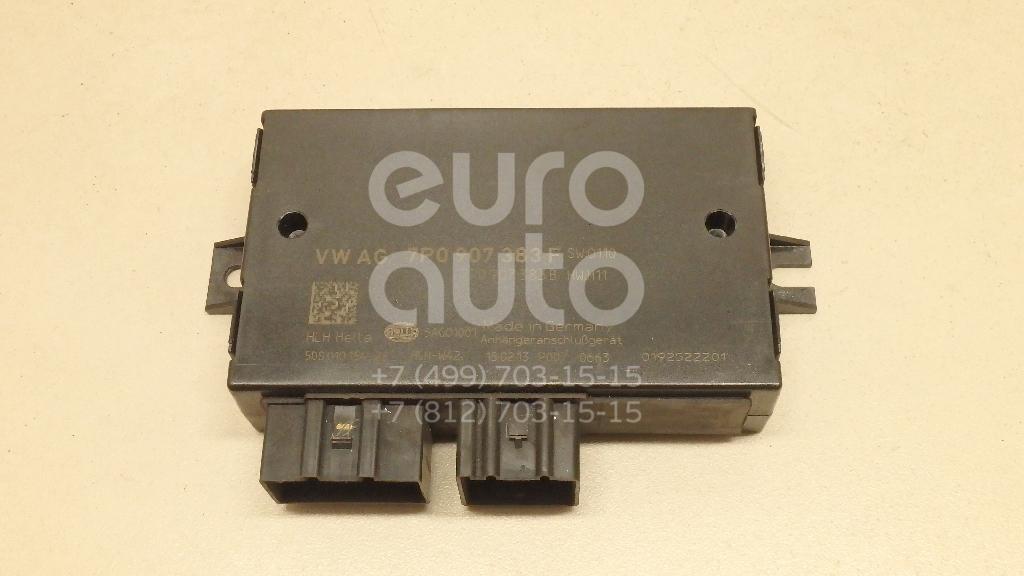 Купить Блок электронный VW Touareg 2010-; (7P0907383F)