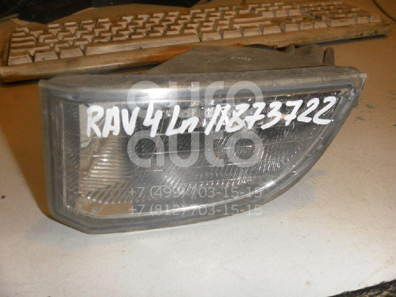 Купить Фара противотуманная левая Toyota RAV 4 2000-2005; (8122142020)