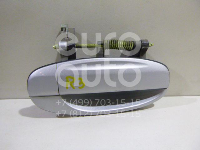 Купить Ручка двери задней наружная правая Chevrolet Aveo (T200) 2003-2008; (96410237)