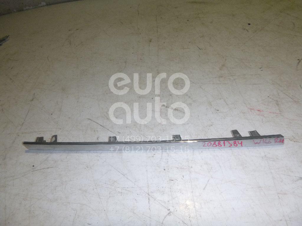 Купить Накладка на решетку радиатора Mercedes Benz W166 M-Klasse (ML/GLE) 2011-; (1668881485)