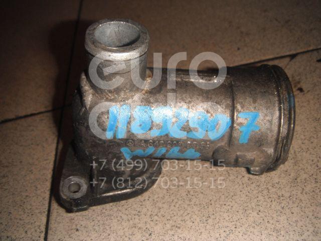 Купить Фланец двигателя системы охлаждения Mercedes Benz W164 M-Klasse (ML) 2005-2011; (6422000656)