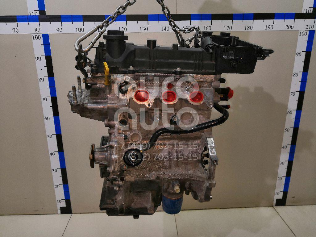 Двигатель Kia Picanto 2011-2017; (W147104P00)