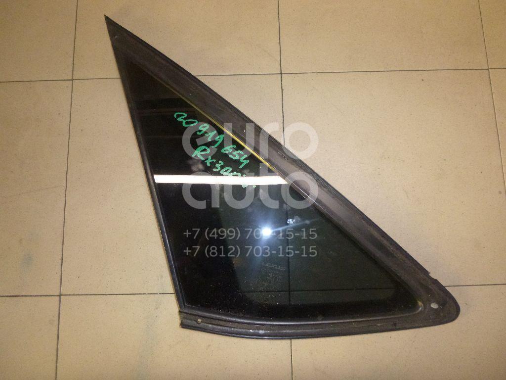 Купить Стекло кузовное глухое левое Lexus RX 300/330/350/400h 2003-2009; (6272048230)