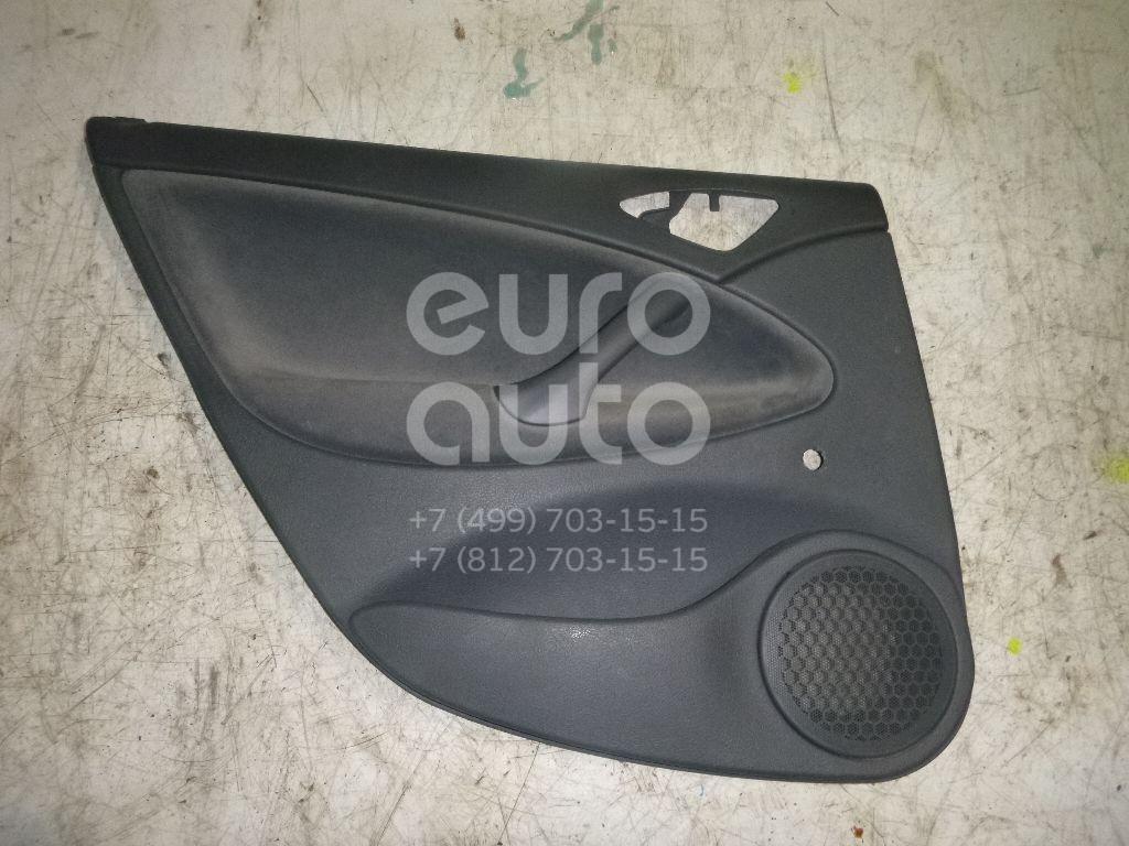 Обшивка двери задней левой Citroen C5 2004-2008; (9330VP)  - купить со скидкой