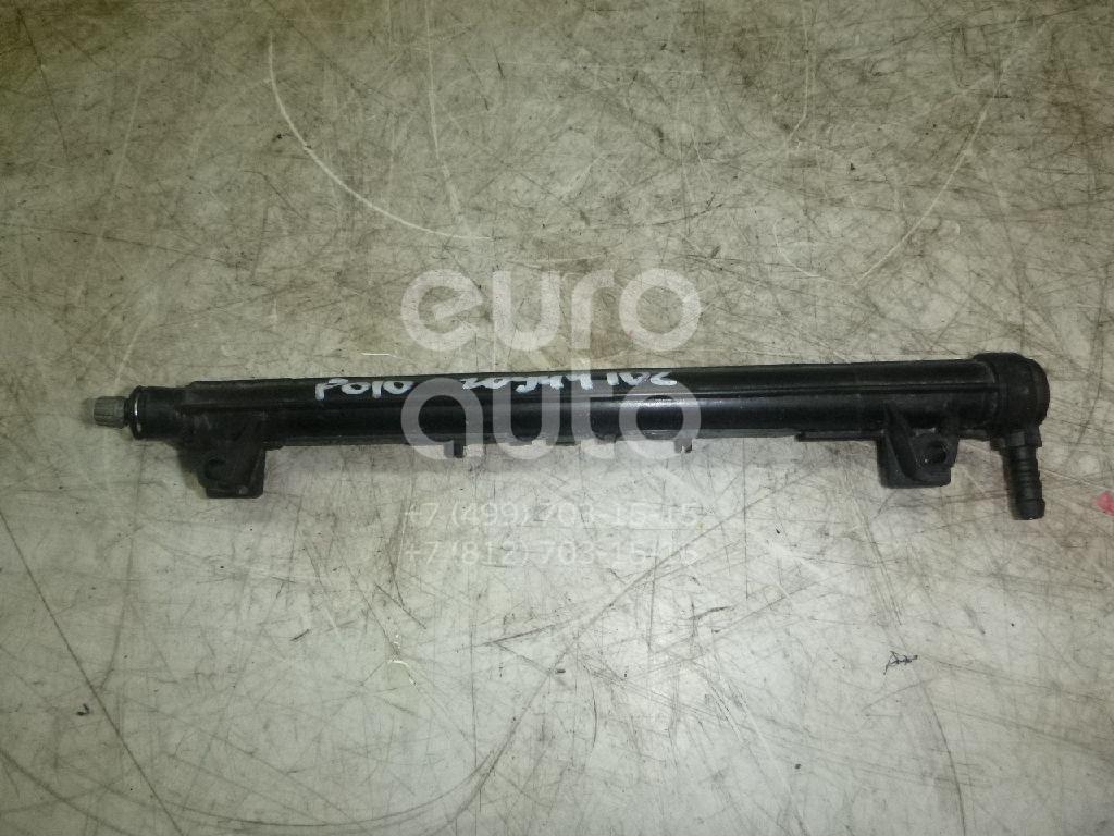 Купить Рейка топливная (рампа) VW Polo (Sed RUS) 2011-; (036133320C)