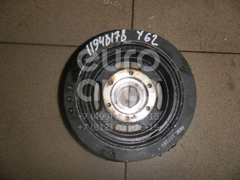 Купить Шкив коленвала Nissan Patrol (Y62) 2010-; (123031LA0A)