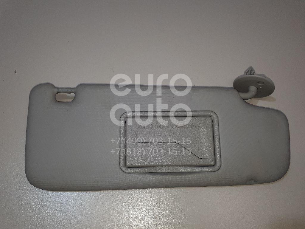 Козырек солнцезащитный (внутри) Chevrolet Aveo (T300) 2011-; (42478247)