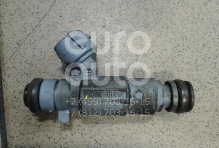 Купить Форсунка инжекторная электрическая Kia Sorento 2002-2009; (3531038010)