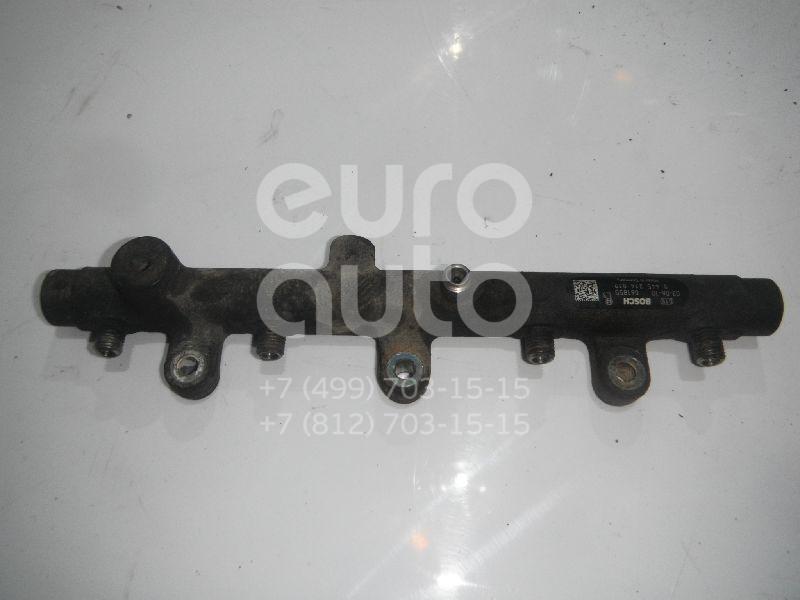 Купить Рейка топливная (рампа) Citroen Jumper 244 2002-2006; (0445214019)
