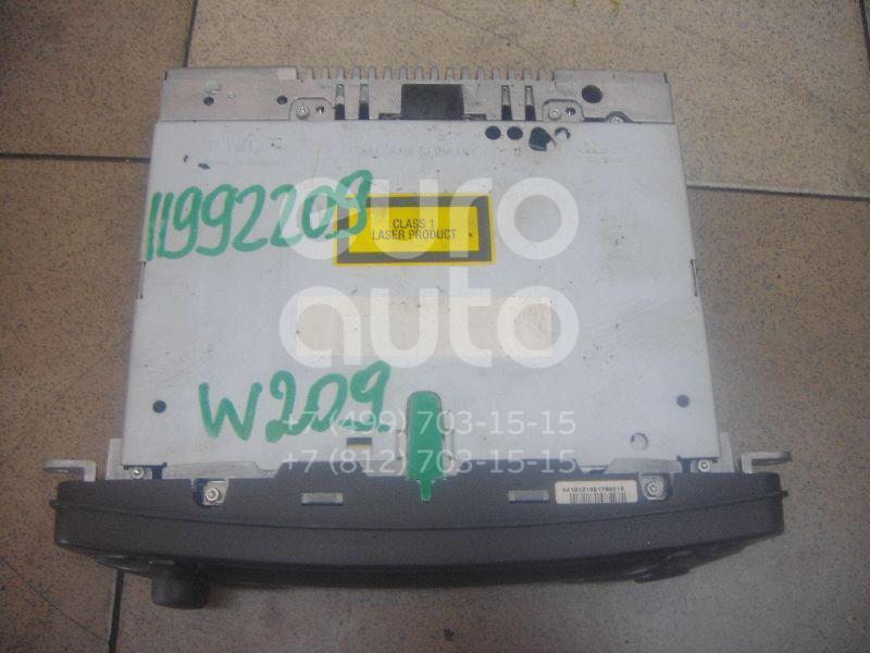 Купить Магнитола Mercedes Benz C209 CLK coupe 2002-2010; (2038202686)
