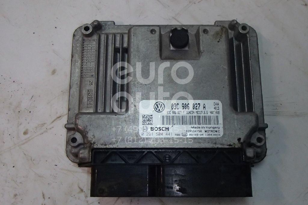 Купить Блок управления двигателем VW Tiguan 2007-2011; (03C906027F)