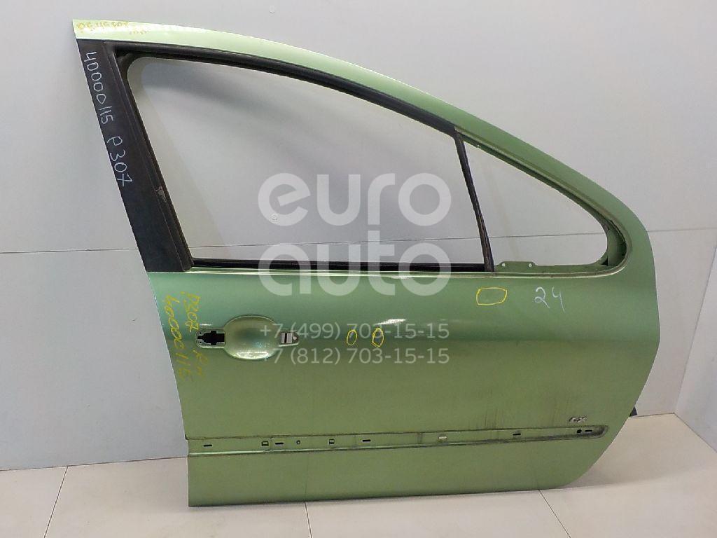 Дверь передняя правая для Peugeot 307 2001-2008 - Фото №1