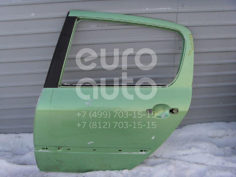 Дверь задняя левая для Peugeot 307 2001-2007 - Фото №1