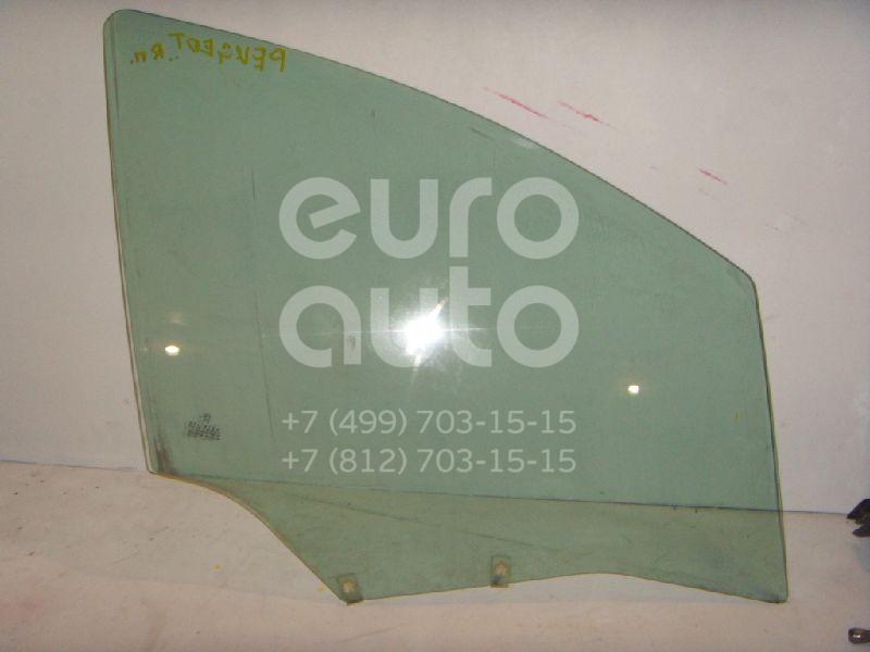 Стекло двери передней правой для Peugeot 307 2001-2007 - Фото №1